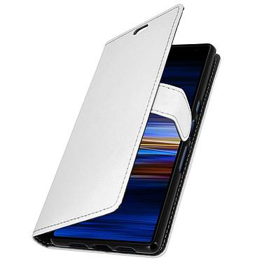 Avizar Etui folio Blanc pour Sony Xperia 10 Plus pas cher