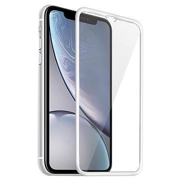 Avizar Film verre trempé Blanc pour Apple iPhone XR pas cher