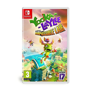 Yooka Laylee The Impossible Lair (SWITCH) Jeu SWITCH Action-Aventure 3 ans et plus