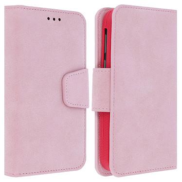 Avizar Etui folio Rose pour Tous les smartphones jusqu'à 5 pouces Etui folio Rose Tous les smartphones jusqu'à 5 pouces