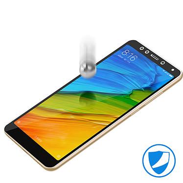 Avizar Film verre trempé Noir pour Xiaomi Redmi 5 pas cher