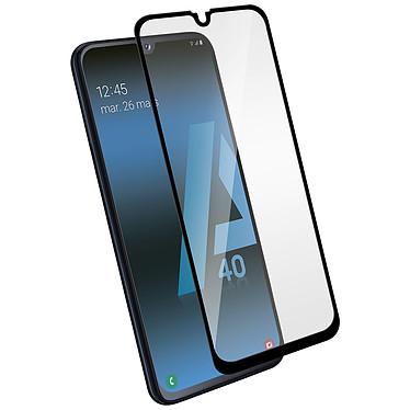 Avizar Film verre trempé Noir pour Samsung Galaxy A40 Film verre trempé Noir Samsung Galaxy A40