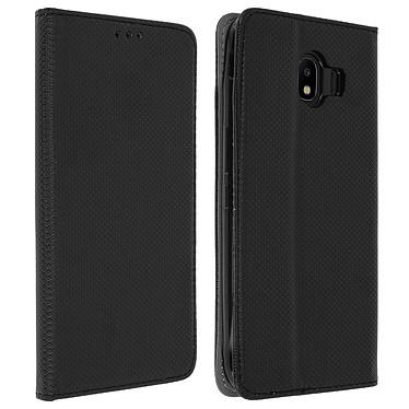 Avizar Etui folio Noir pour Samsung Galaxy J4 Etui folio Noir Samsung Galaxy J4