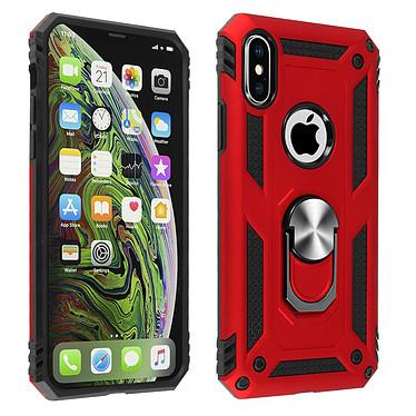 Avizar Coque Rouge Bi-matières pour Apple iPhone XS Max Coque Rouge bi-matières Apple iPhone XS Max