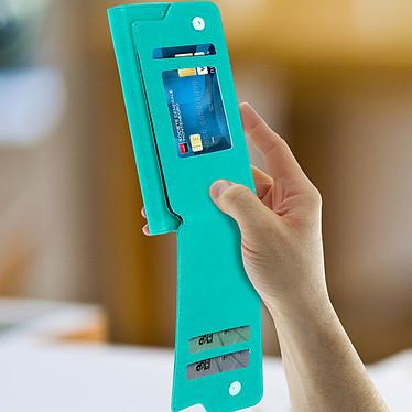 Avis Avizar Etui folio Vert pour Compatibles avec Smartphones de 5,3 à 5,5 pouces