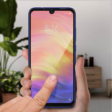 Acheter Avizar Film verre trempé Noir pour Xiaomi Redmi Note 7