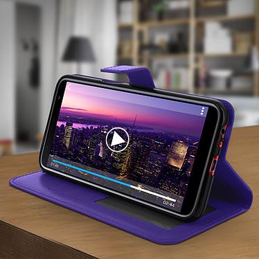 Acheter Avizar Etui folio Violet pour Samsung Galaxy J6 Plus