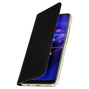 Avizar Etui folio Noir Éco-cuir pour Huawei Mate 20 Lite pas cher