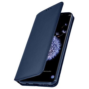 Avizar Etui folio Bleu Nuit pour Samsung Galaxy S9 Plus Etui folio Bleu Nuit Samsung Galaxy S9 Plus