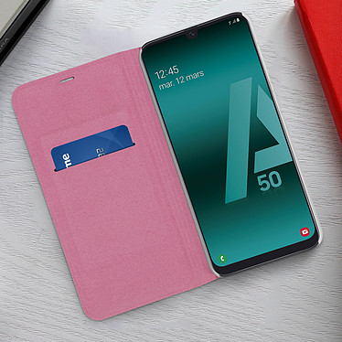 Acheter Avizar Etui folio Rose pour Samsung Galaxy A50 , Samsung Galaxy A30s