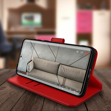 Avis Avizar Etui folio Rouge pour Samsung Galaxy S20 Plus