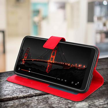 Avis Avizar Etui folio Rouge Éco-cuir pour Xiaomi Mi A2
