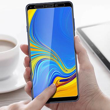 Acheter Avizar Film verre trempé Noir pour Samsung Galaxy A9 2018
