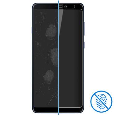 Avis Avizar Film verre trempé Noir pour Samsung Galaxy A9 2018