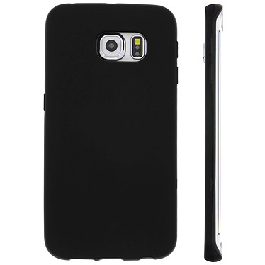 Avizar Coque Noir pour Samsung Galaxy S6 Edge pas cher