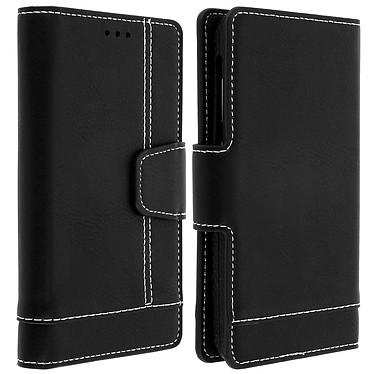 Avizar Etui folio Noir pour Smartphones de 5.0' à 5.5' Etui folio Noir Smartphones de 5.0' à 5.5'