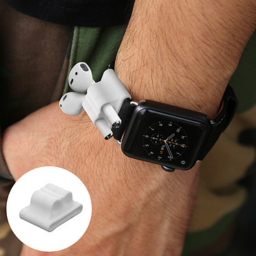 Avis Avizar Pack d'accessoires Blanc pour Apple AirPods