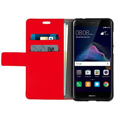 Acheter Avizar Etui folio Rouge pour Huawei P8 Lite (2017) , Honor 8 Lite