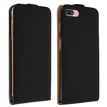 Avizar Etui à clapet Noir pour Apple iPhone 7 Plus , Apple iPhone 8 Plus pas cher