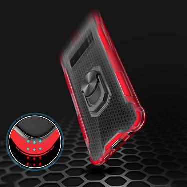 Avis Avizar Coque Rouge Hybride pour Samsung Galaxy S10 Plus