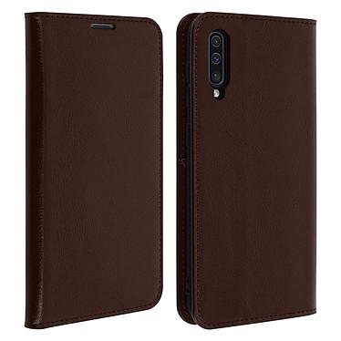 Avizar Etui folio Marron pour Samsung Galaxy A50 , Samsung Galaxy A30s Etui folio Marron Samsung Galaxy A50 , Samsung Galaxy A30s