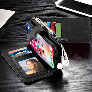 Acheter Avizar Etui folio Noir pour Apple iPhone X , Apple iPhone XS