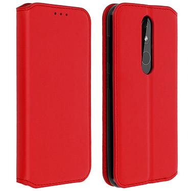 Avizar Etui folio Rouge pour Nokia 3.2 Etui folio Rouge Nokia 3.2