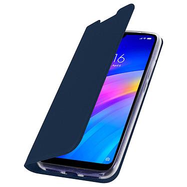 Avizar Etui folio Bleu Nuit pour Xiaomi Redmi 7 pas cher
