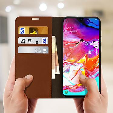Acheter Avizar Etui folio Camel pour Samsung Galaxy A70