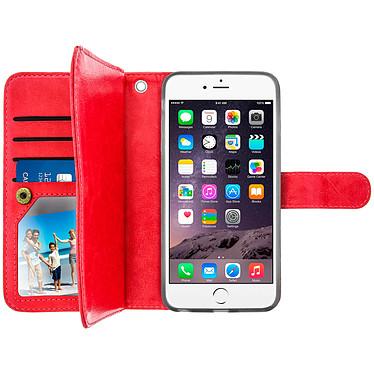 Acheter Avizar Etui folio Rouge pour Apple iPhone 6 Plus , Apple iPhone 6S Plus