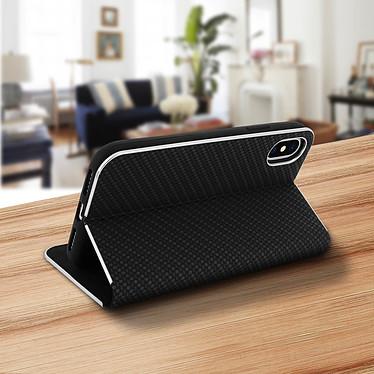 Avis Avizar Etui folio Noir Carbone pour Apple iPhone XS Max