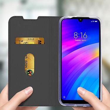 Avis Avizar Etui folio Gris pour Xiaomi Redmi 7