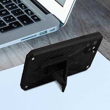 Avis Avizar Coque Noir Béquille Intégrée pour Apple iPhone 11 Pro Max