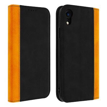Avizar Etui folio Noir Éco-cuir pour Apple iPhone XR Etui folio Noir éco-cuir Apple iPhone XR