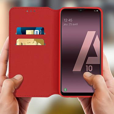 Acheter Avizar Etui folio Rouge pour Samsung Galaxy A10