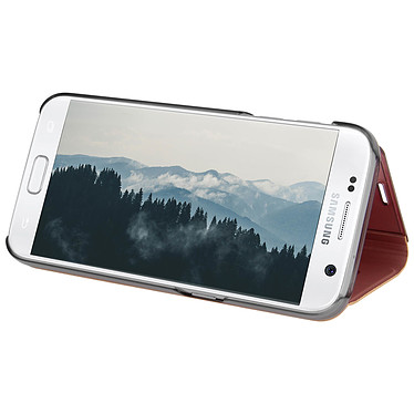 Avis Avizar Etui folio Rose pour Samsung Galaxy S7
