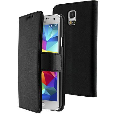 Avizar Etui folio Noir Portefeuille pour Samsung Galaxy S5 , Samsung Galaxy S5 New Etui folio Noir portefeuille Samsung Galaxy S5 , Samsung Galaxy S5 New