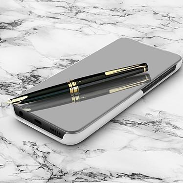 Avizar Etui folio Argent pour Samsung Galaxy A20e pas cher