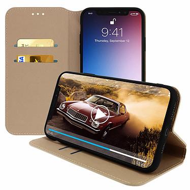 Avizar Etui folio Dorée pour Apple iPhone 11 Pro Max pas cher