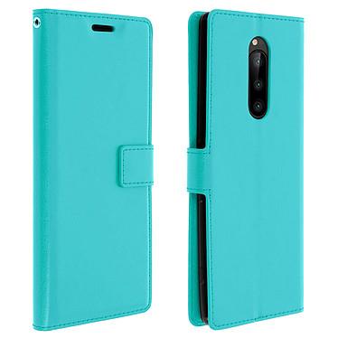 Avizar Etui folio Turquoise pour Sony Xperia 1 Etui folio Turquoise Sony Xperia 1