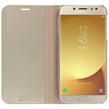 Avis Avizar Etui folio Dorée pour Samsung Galaxy J7 2017