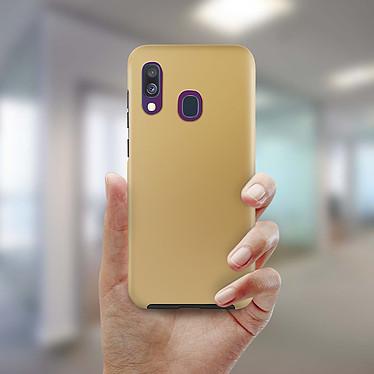Avis Avizar Coque Dorée pour Samsung Galaxy A40