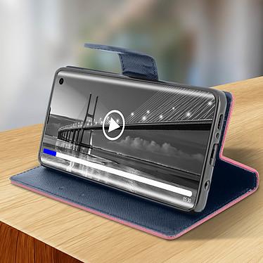 Avis Avizar Etui folio Fuchsia pour Samsung Galaxy S10