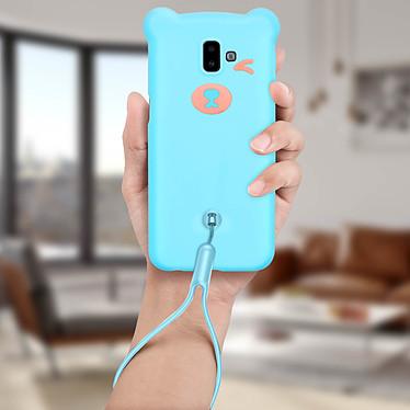 Acheter Avizar Coque Bleu Design Nounours pour Samsung Galaxy J6 Plus