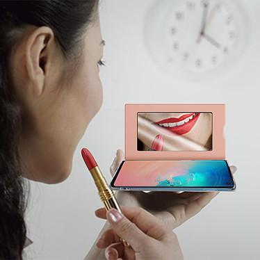 Acheter Avizar Etui folio Rose Champagne pour Samsung Galaxy S10