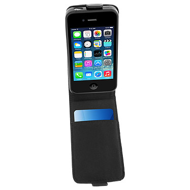 Acheter Avizar Etui à clapet Noir pour Apple iPhone 4 , Apple iPhone 4S