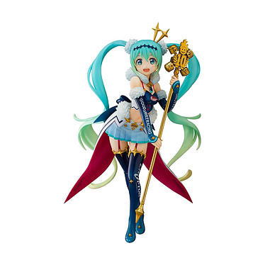 Hatsune Miku GT Project - Statuette 1/7  2018: Challenging to the TOP 23 cm Statuette 1/7 Hatsune Miku GT Project 2018: Challenging to the TOP 23 cm.
