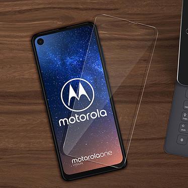 Avis Avizar Film verre trempé Noir pour Motorola One Vision, Motorola One Action