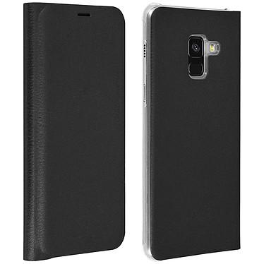 Avizar Etui folio Noir pour Samsung Galaxy A8 pas cher