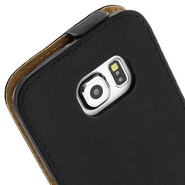 Avis Avizar Etui à clapet Noir pour Samsung Galaxy S6 Edge